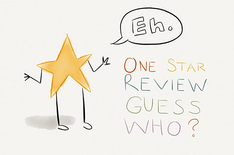 One Star Review Guess Who? (#73)