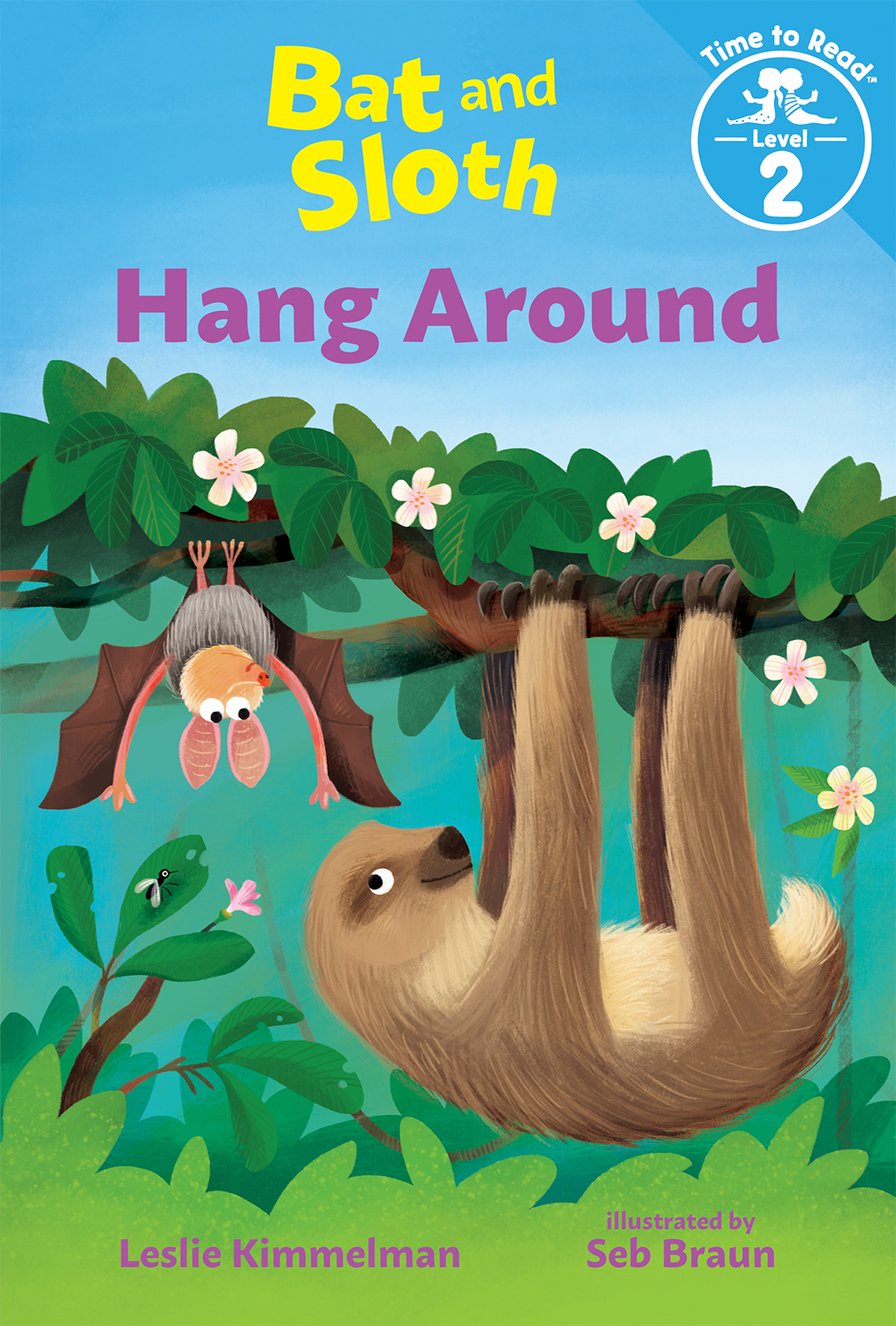 Bat and Sloth Hang Around