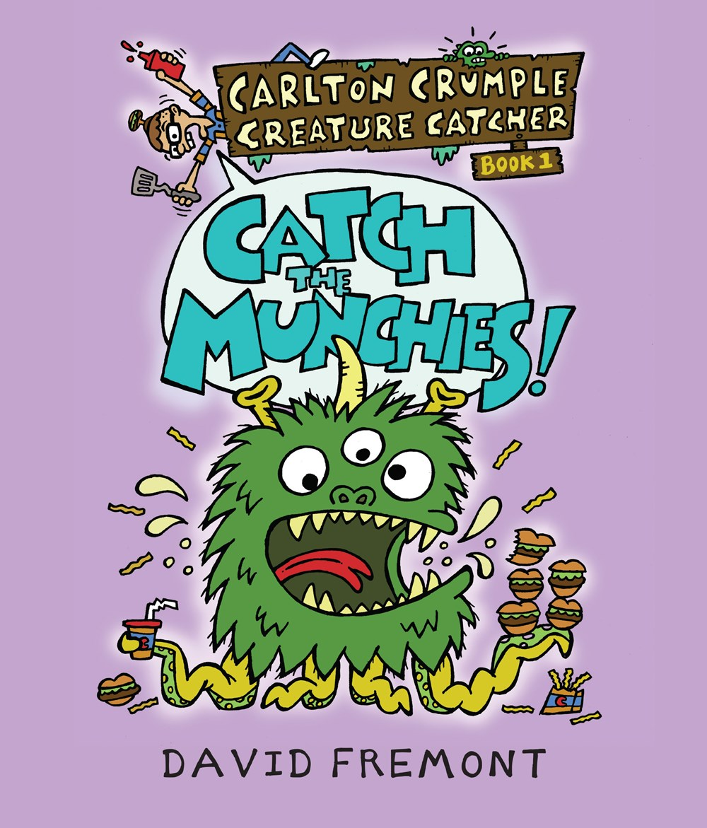 Carlton Crumple Creature Catcher: Catch the Munchies!