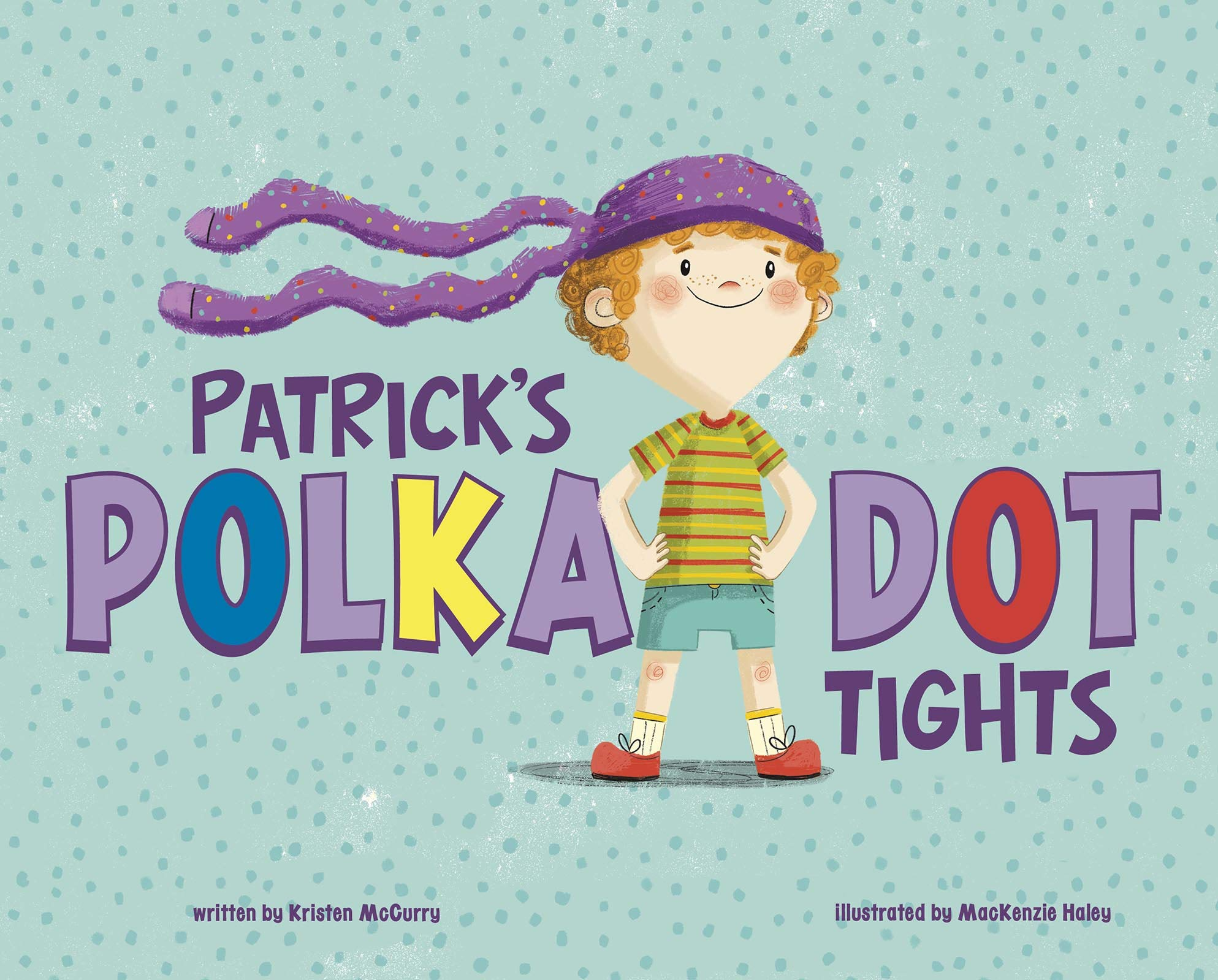 Patrick's Polka Dot Tights