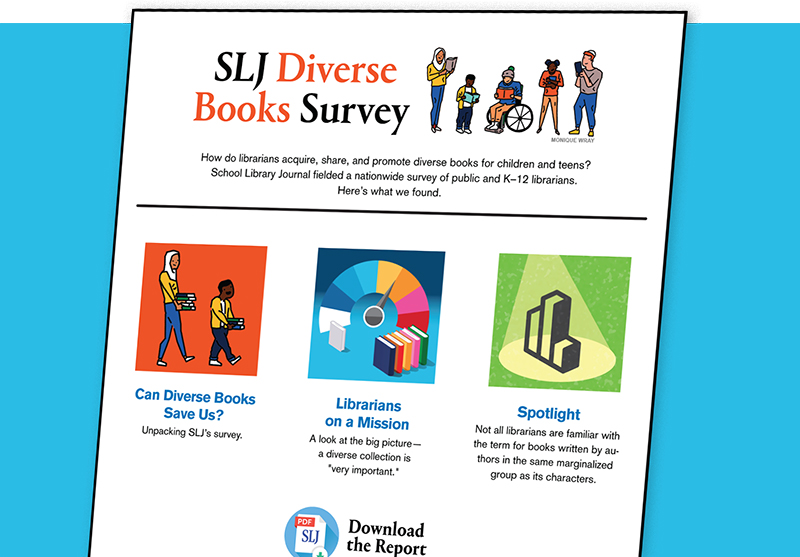 SLJ Diverse Books Survey Page Updated with New Resources, Access to Full Report