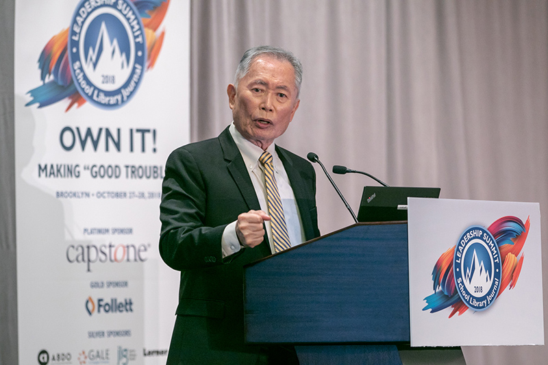 Takei Opens SLJ Summit With Emotional, Inspiring History Lesson
