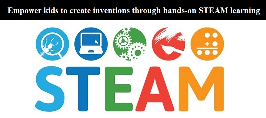 Empower kids to create inventions through hands-on STEAM