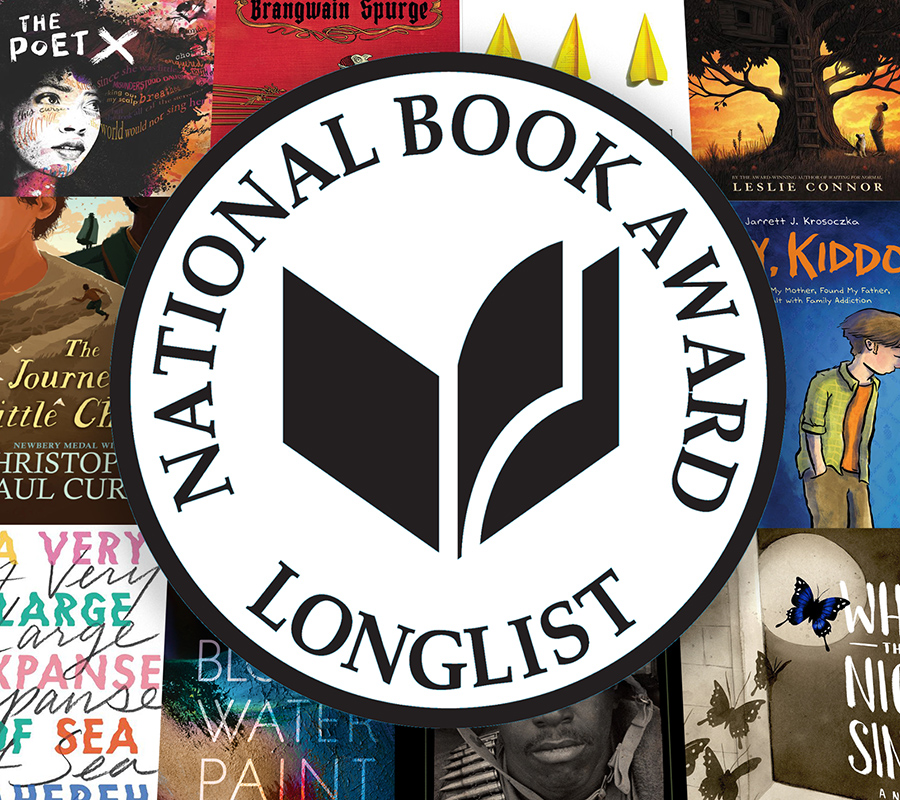 2018 NBA Longlist for Young People's Literature Announced