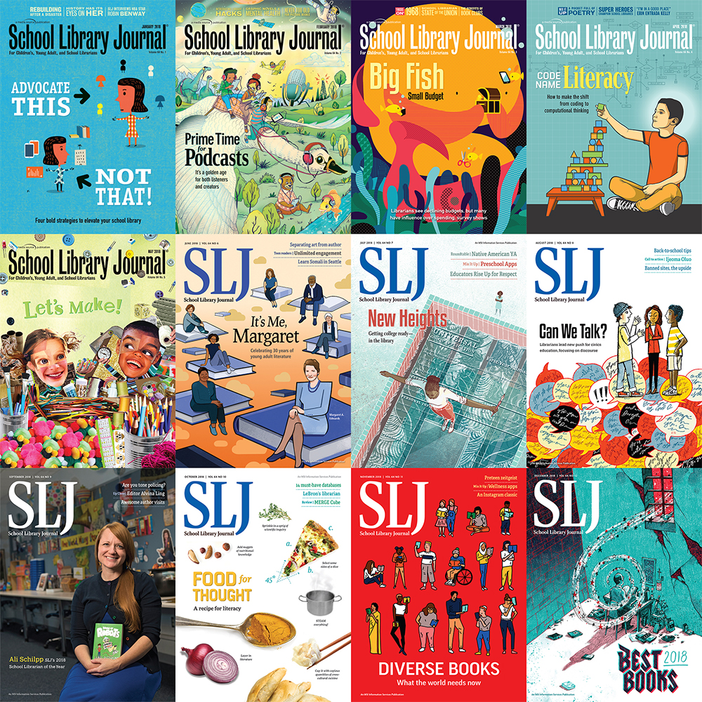 The Year in SLJ Covers | 2018