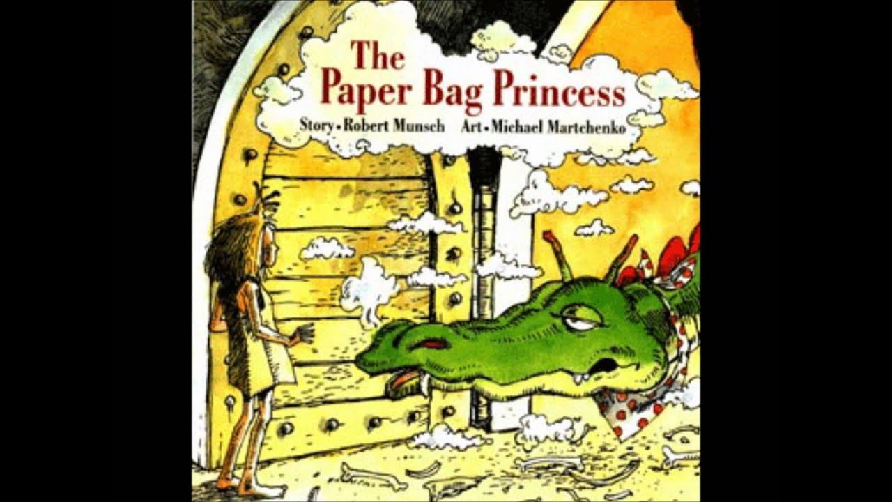 Fuse 8 n' Kate: The Paper Bag Princess by Robert Munsch, ill. Michael Martchenko