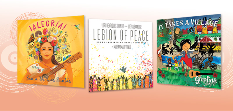 Joy to the World! 10 Children's Music CDs of Love, Peace, & Silliness | ClefNotes