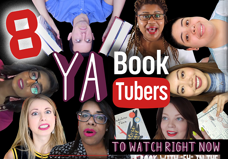 8 YA BookTubers To Watch Right Now