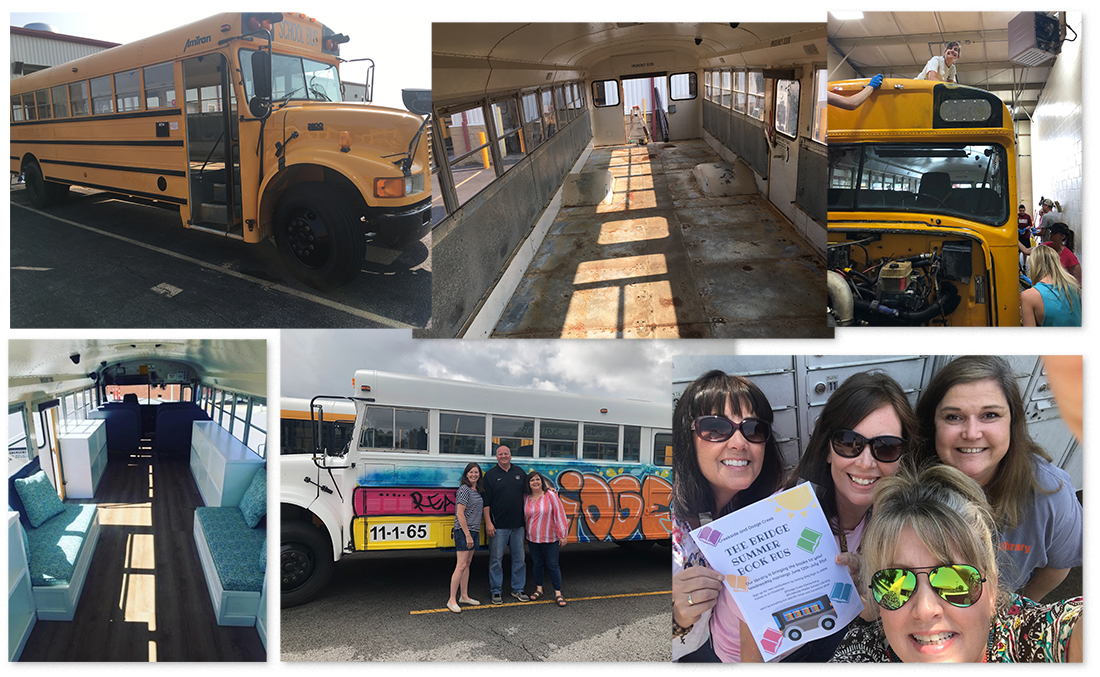 Arkansas Librarians Launch Summer Book Bus, Inspire Community
