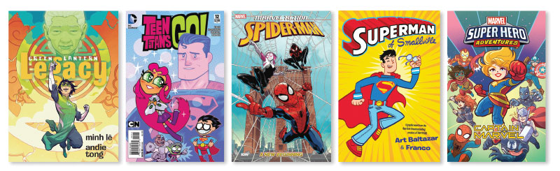 Superheroes 10 Graphic Novels For Middle Grade Readers