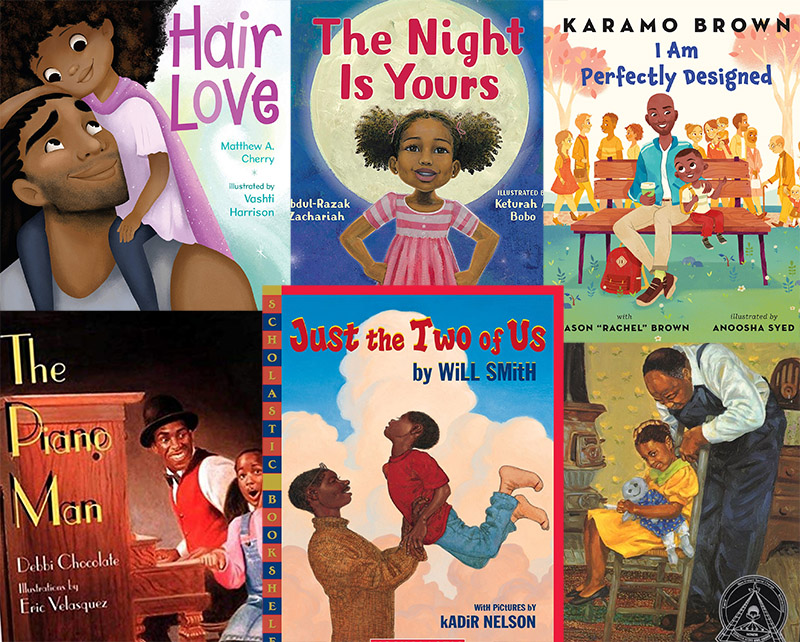 7 Picture Books About Black Father Figures