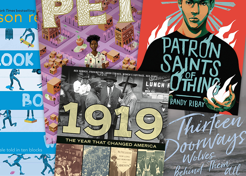 SLJ's Reviews of the 2019 National Book Award Finalists in Young People's Literature