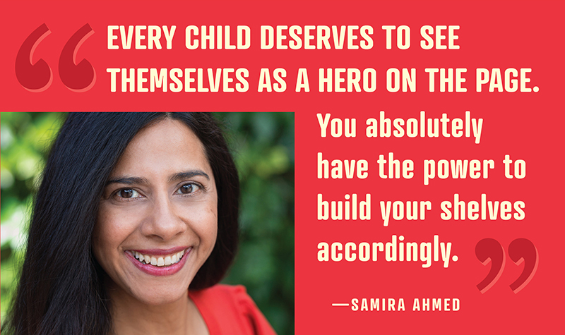 "Samira Ahmed Challenges Librarians:  ""Use Your Power"" 
