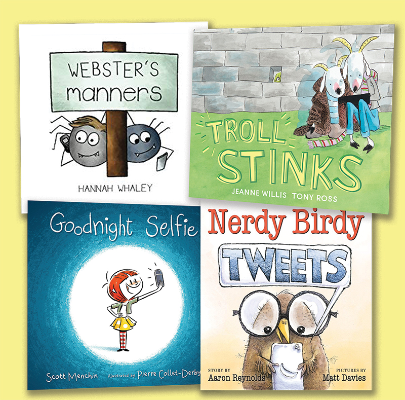 Picture Books, Novels, and Nonfiction To Foster Digital Citizenship