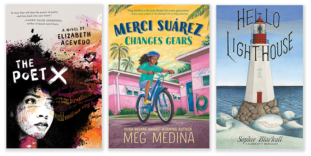 'Merci Suárez' Wins Newbery, 'Hello Lighthouse,' the Caldecott; 'The Poet X' Takes Printz at 2019 Youth Media Awards