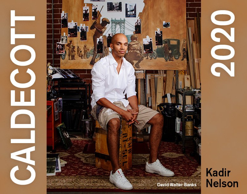 Kadir Nelson on His 2020 Caldecott Win for 'The Undefeated'