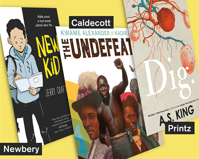 'New Kid' Makes History as First Graphic Novel To Win Newbery; Caldecott Goes To 'The Undefeated'