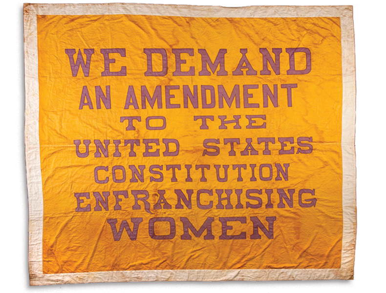 Resources To Help Commemorate the 19th Amendment's Centennial
