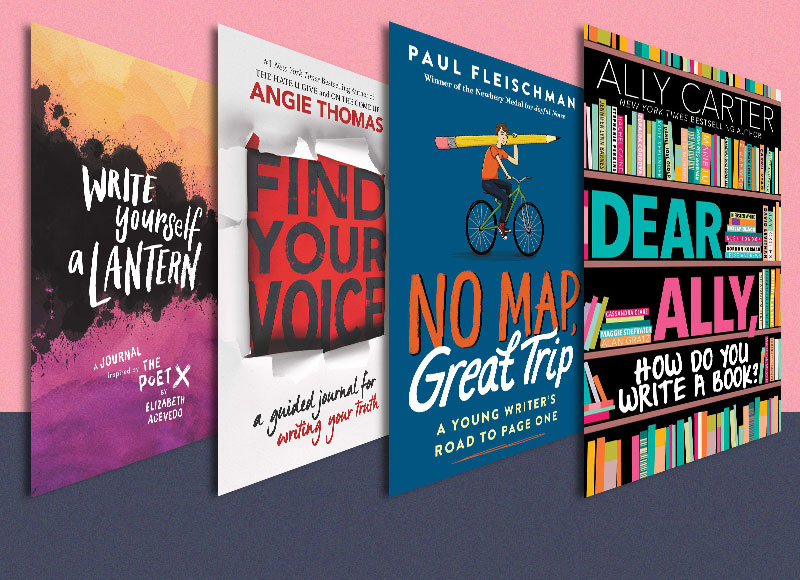 4 Fabulous Writing Guides by Teen and Tween Authors