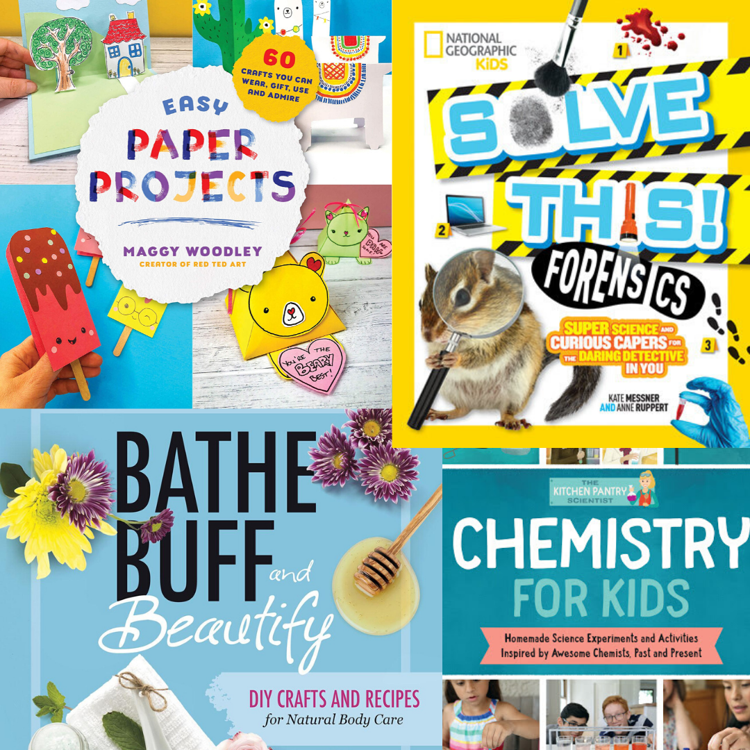 14 DIY & Crafts Books To Get Kids (and Grown-ups) Doing and Making | Summer Reading 2020