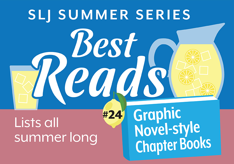 7 Graphic Novels for Chapter Book Readers | Summer Reading 2020