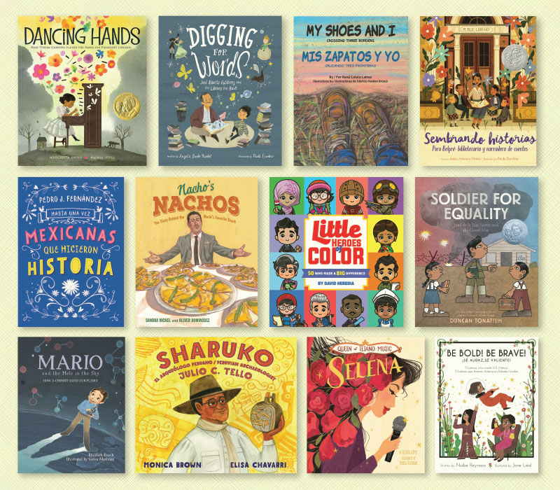Latinx Luminaries: Picture book biographies featuring Latinx superstars | Great Books