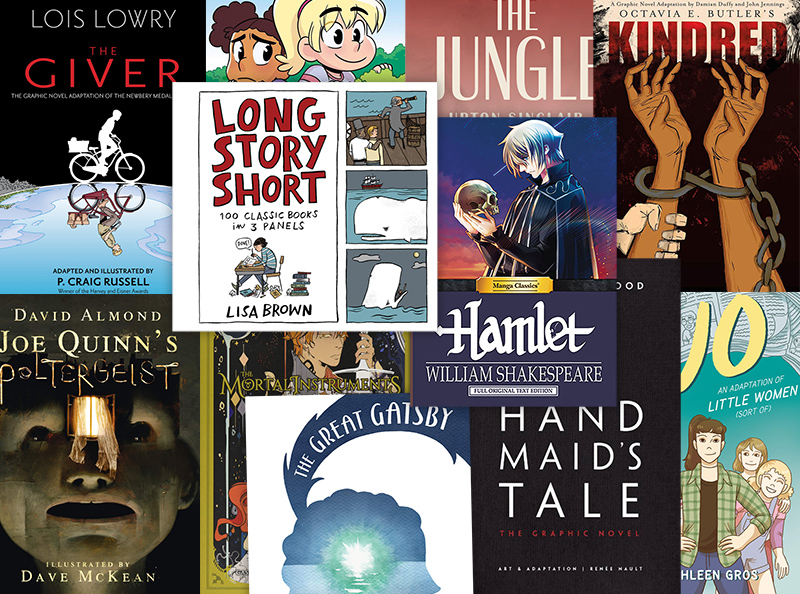 18 Superb Graphic Novel Adaptations for Kids and Teens