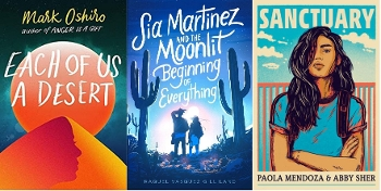 YA Latinx SciFI covers Each of Us a Desert, Sia Martinez, Sanctuary