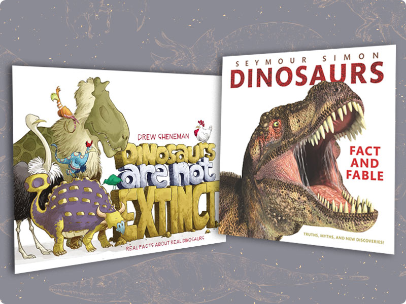 Dino-mite Picture Book Reads | Nonfiction Elementary Spotlight