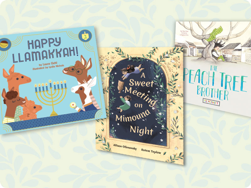 From Post-Passover to Peach Tree | Picture Books Spotlight