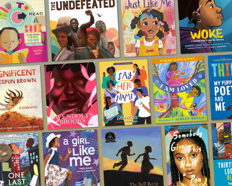 For Us by Us: 16 Poetry Collections and Books by Black Poets for Black History Month and Beyond