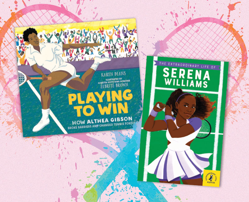Game, Set, Match: Superstars of Tennis | Nonfiction Elementary Spotlight