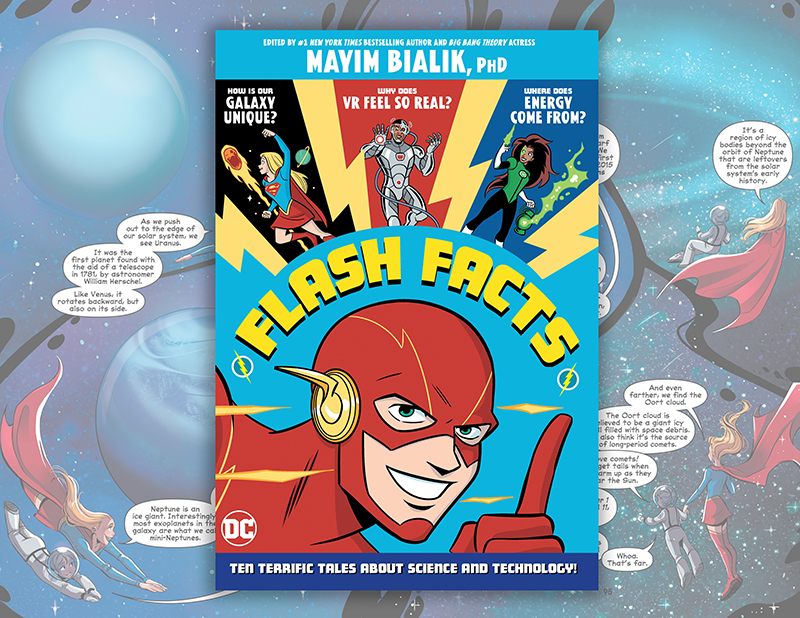 Superheroes Meet Real-Life Science in DC's 'Flash Facts'