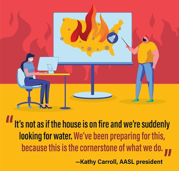Kathy Carroll quote with graphic