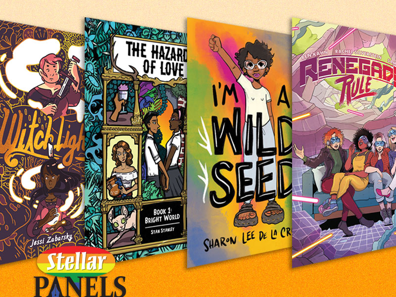 10 YA Graphic Novels About the LGBTQIA+ experience | Stellar Panels