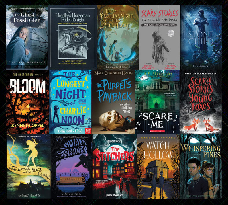 15 Frightful Favorites: A Fifth Grader's Horror Booklist