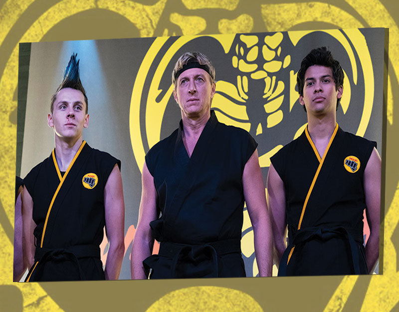 Three Middle Grade and YA Read-Alikes for <q>Cobra Kai</q> on Netflix