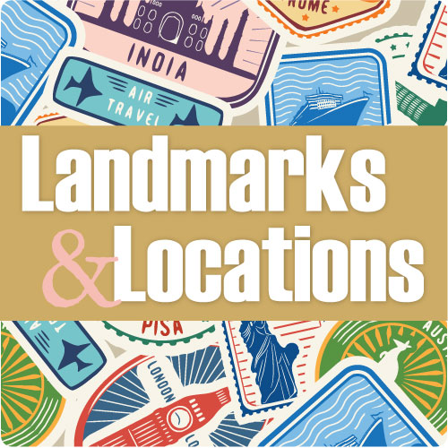 Exploration Near and Far | Landmarks & Locations Series Nonfiction