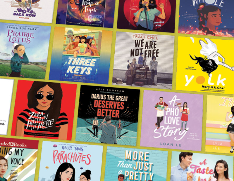 Asian American #OwnVoices: Artfully Narrated Middle Grade, YA, and Crossover Audiobooks