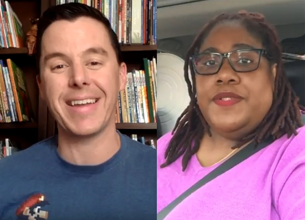 Watch: School Librarians K.C. Boyd & Matthew Winner on Banned Books Week