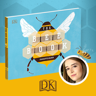 Go bee-hind the scenes of DK's children's book about bees!