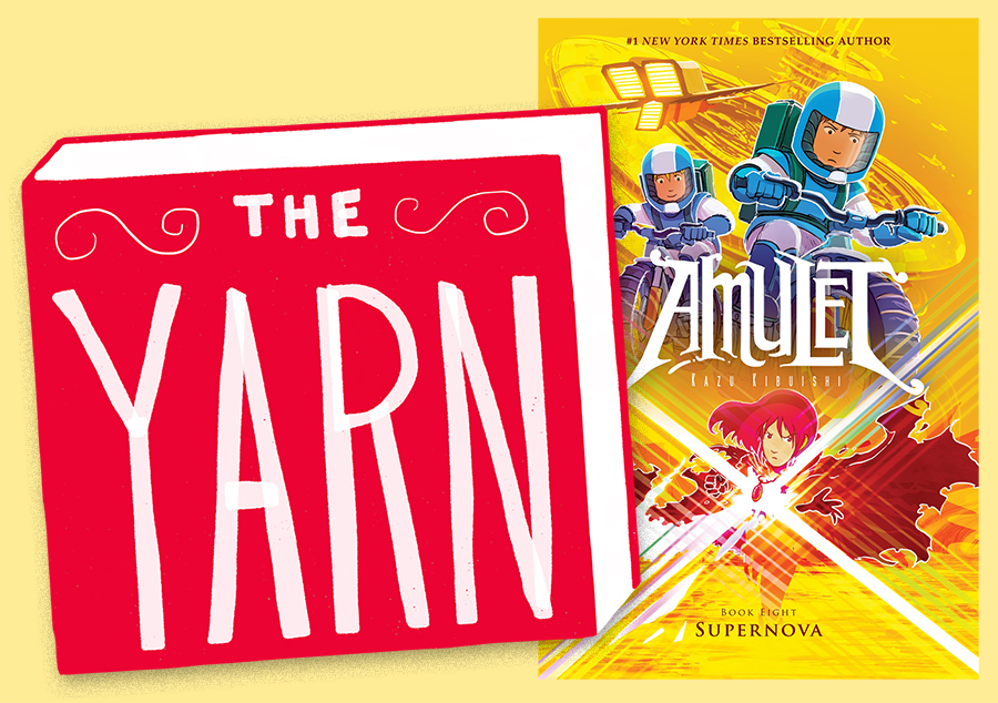 Kazu Kibuishi Stops by The Yarn to Talk 'Amulet'