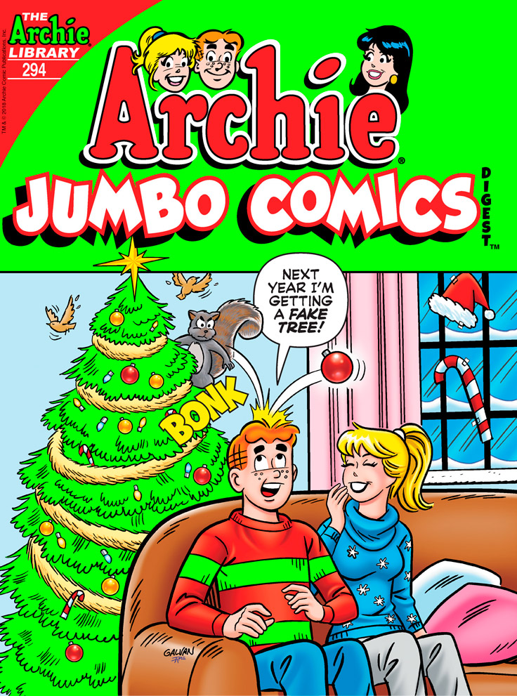 Preview: 'Archie Jumbo Comics Digest' #294
