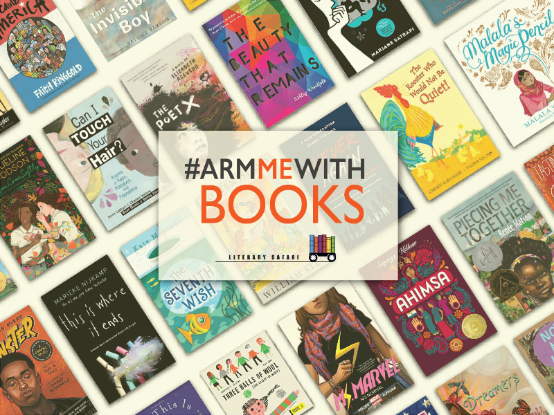 #ArmMeWithBooks List Offers Titles for Resilience, Empathy, and Compassion