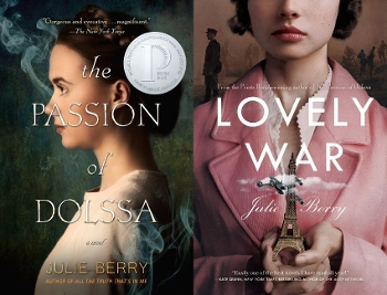 The Passion of Dolssa and Lovely War covers
