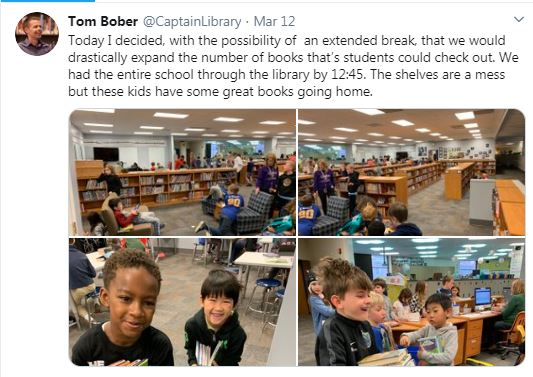 School Librarians Make Sure Students Have Books During Closures