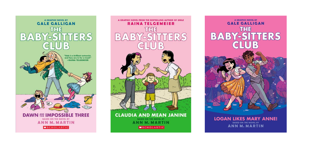 Babysitters Club graphic novel covers