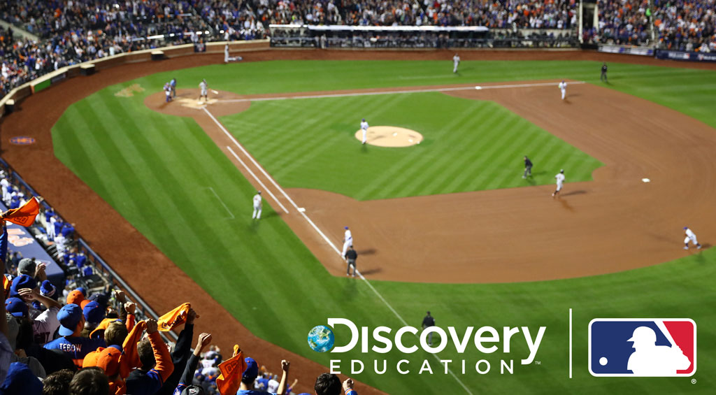 Major League Baseball and Discovery Education Partner to Bring Science To Students