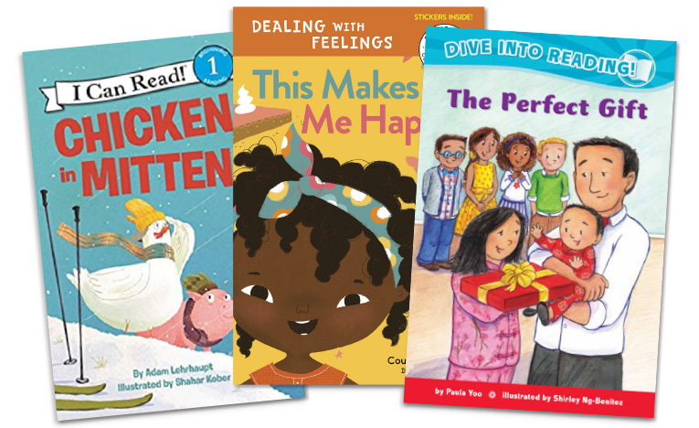 New Books for Emergent Readers