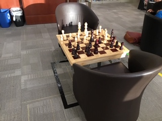 Chess table with